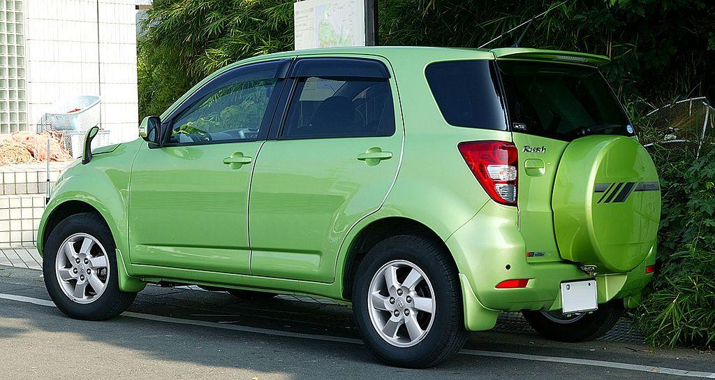 Mini SUVToyota Rush 001  Daihatsu Terios  Wikipedia the free