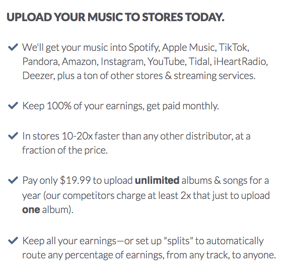 Upload Sell Unlimited Songs Worldwide Keep 100 Of Your Earnings Get Paid Monthly Napster Songs Promo Codes Coupon