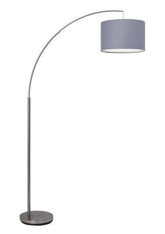 Design Steh Lampe LED Bogen Lese Spot Büro Stand Leuchte 15 W Glas Big Light
