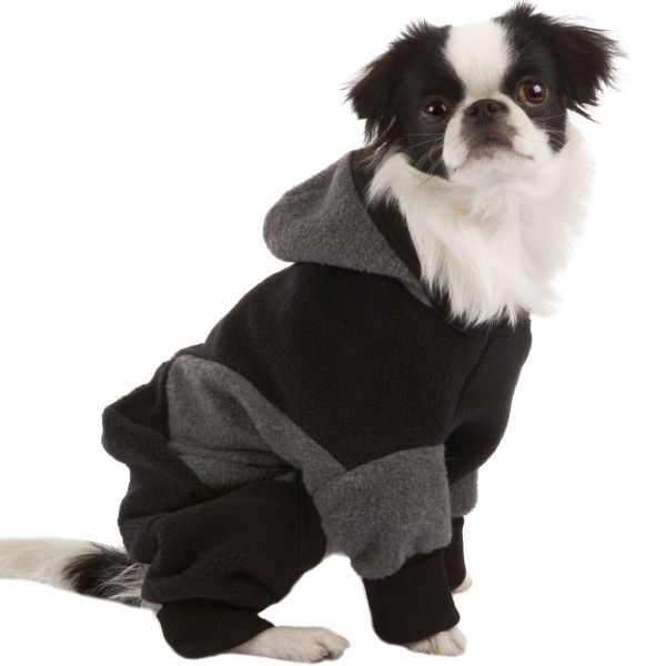 Long, Leggy, And Warm Protective Hoodies & Boots For Dogs ... see more at PetsLady.com ... The FUN site for Animal Lovers