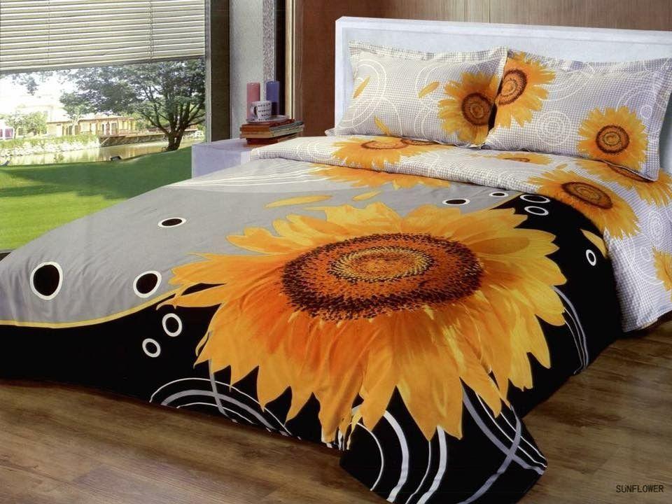 Lovely 9 Diy Sunflower Bedroom Decoration Ideas