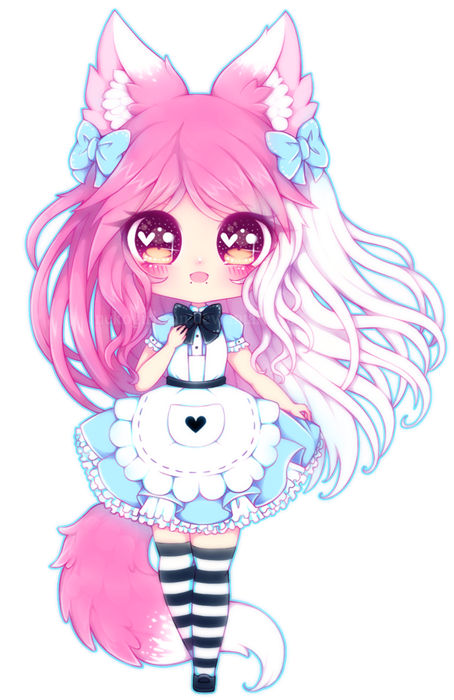 My Fanpage Prize for first place in the contest for her OC