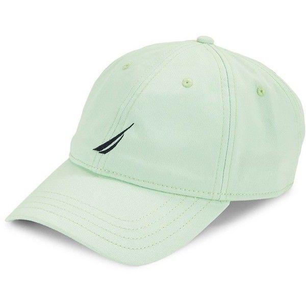 Nautica Six-Panel Baseball Cap ( 25) ❤ liked on Polyvore featuring men s  fashion 53f7620ae793