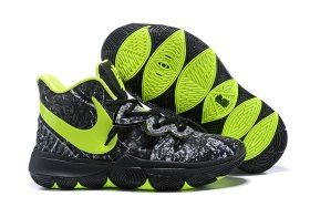 bc82d50d5999 Nike Kyrie 5 Black Volt Grey Men s Basketball Shoes Irving Sneakers ...