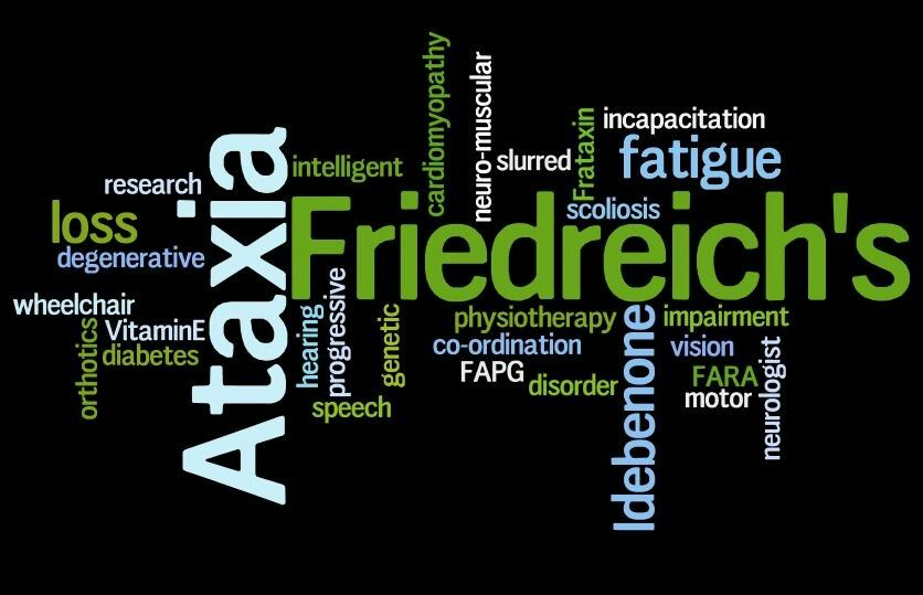 As we all know, Friedreich's Ataxia is one of the rare disease in the world