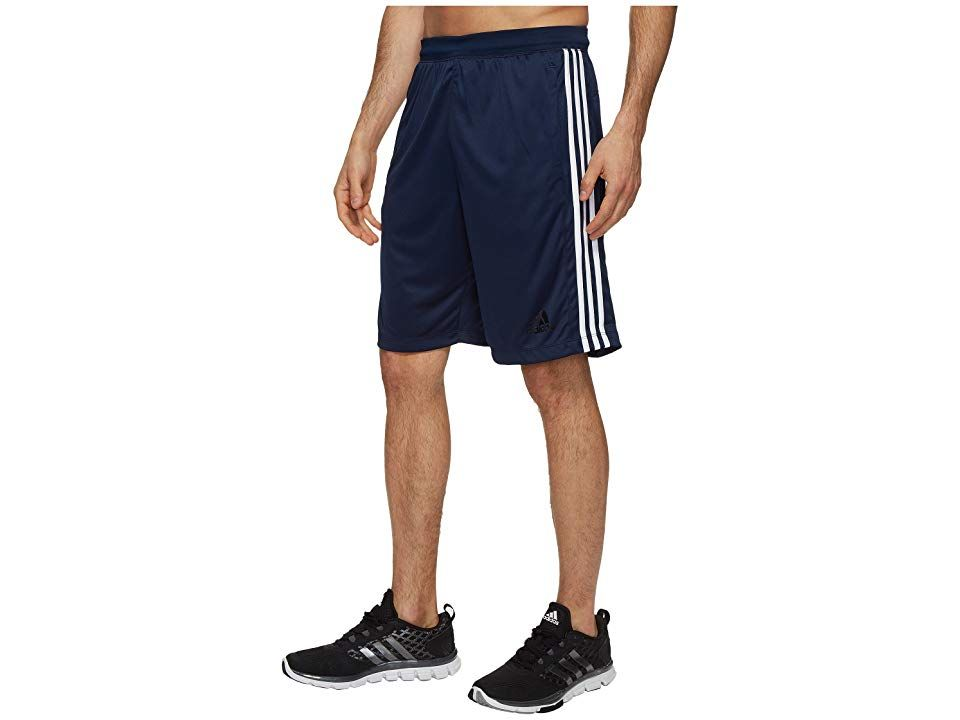adidas Designed2Move 3Stripes Shorts Collegiate NavyWhite Mens Shorts Whether you wiggle or shimmy these adidas shorts have your back or bottom Regular fit is eased but n...