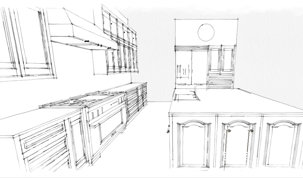 Pin by Clarus Renderings on Kitchen Drawings (With images ...
