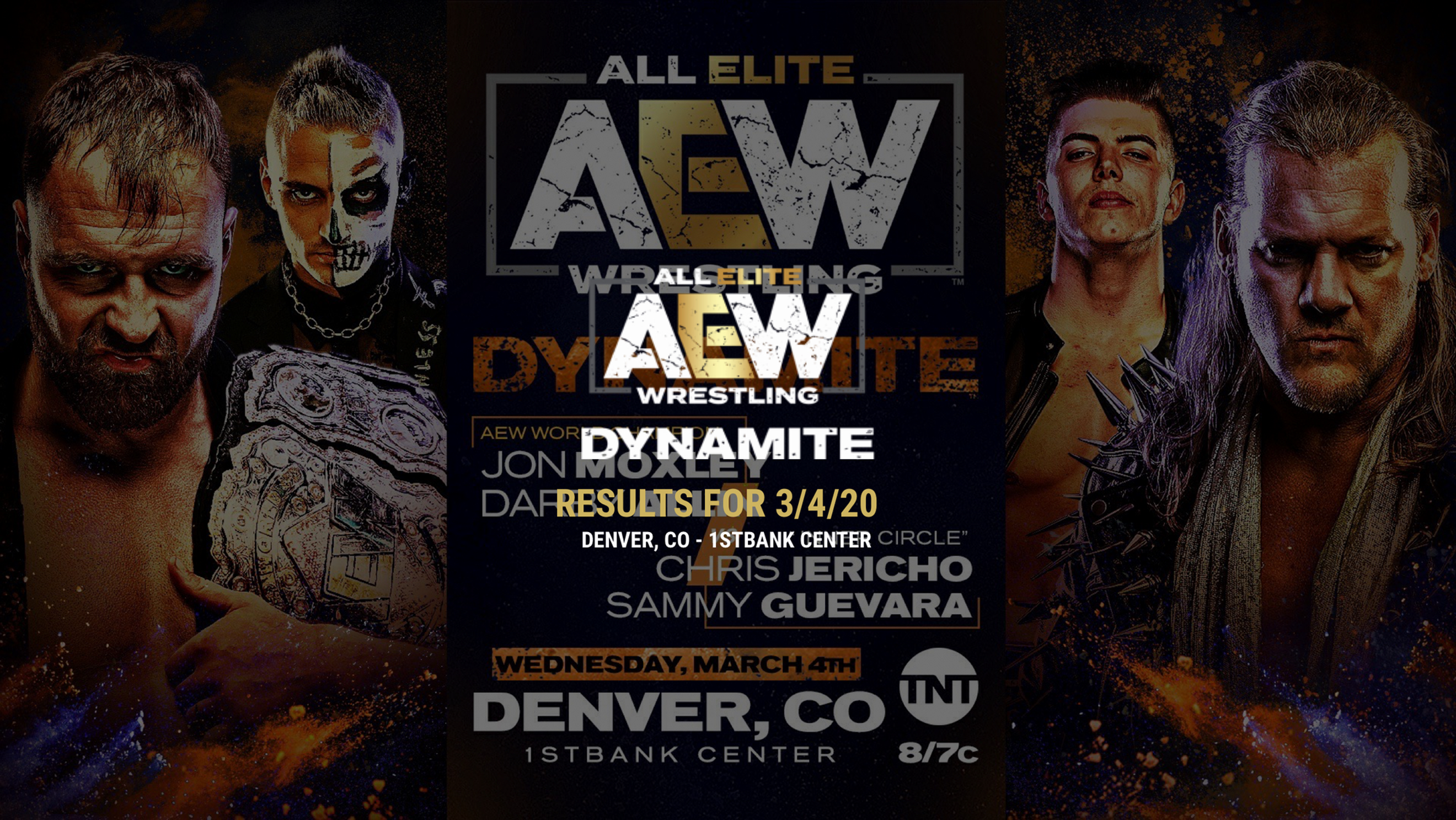 Aew Dynamite Results For March 4 2020 Dynamite March 4 March