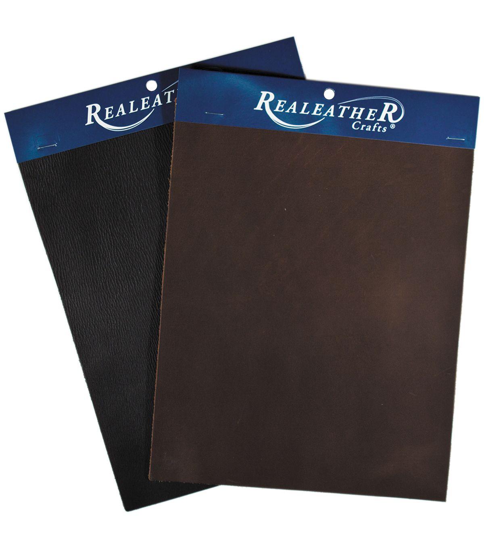 Realeather Crafts Triumph Trim Piece Brown Leather Craft