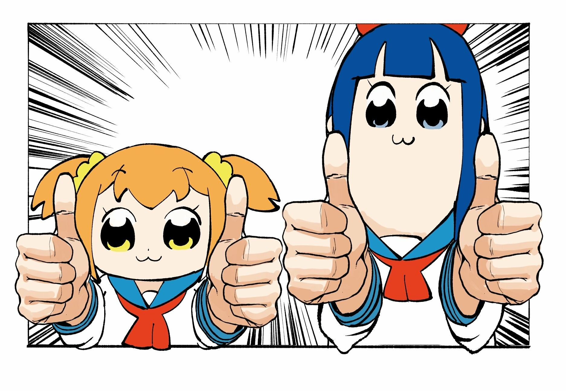 Poptepipic Pop Team Epic With Images Anime Movies Anime