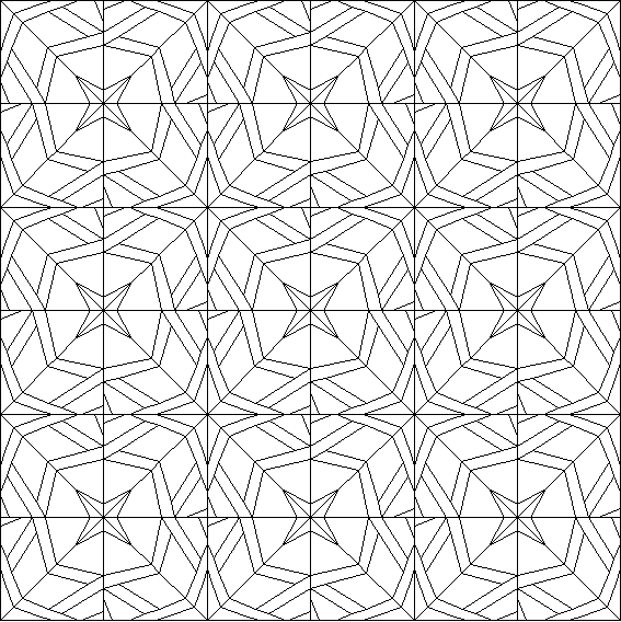 Arabesque Quilt Coloring Page | Art therapy Geometry | Pinterest ...