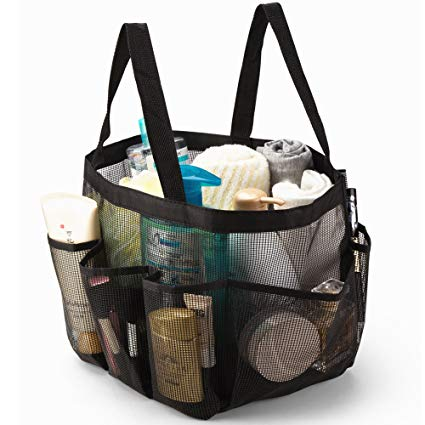 Organizer Toiletry Quick Dry Carry Storage Pouch Bath Mesh Shower Bag Tote