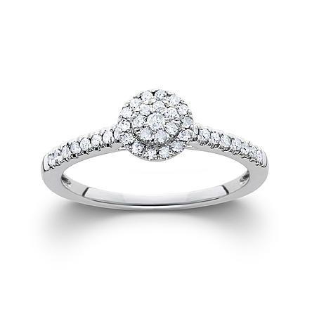Kmart Com Round Diamond Ring White Gold Engagement Rings White Gold