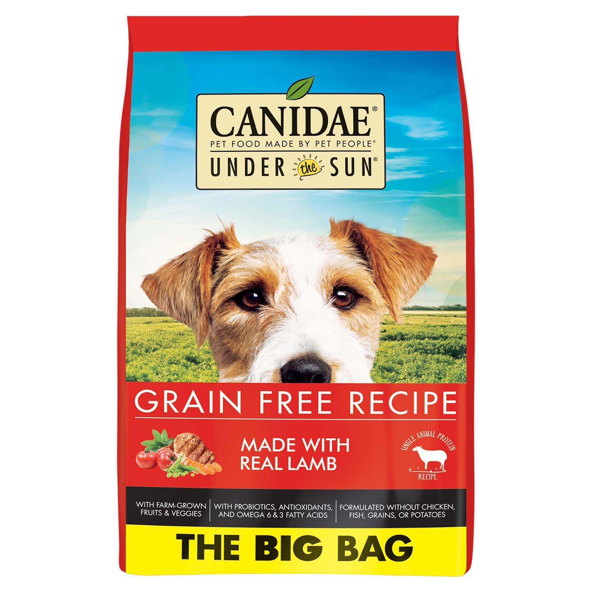 Canidae Under The Sun Dog Food Nautral Grain Free Lamb