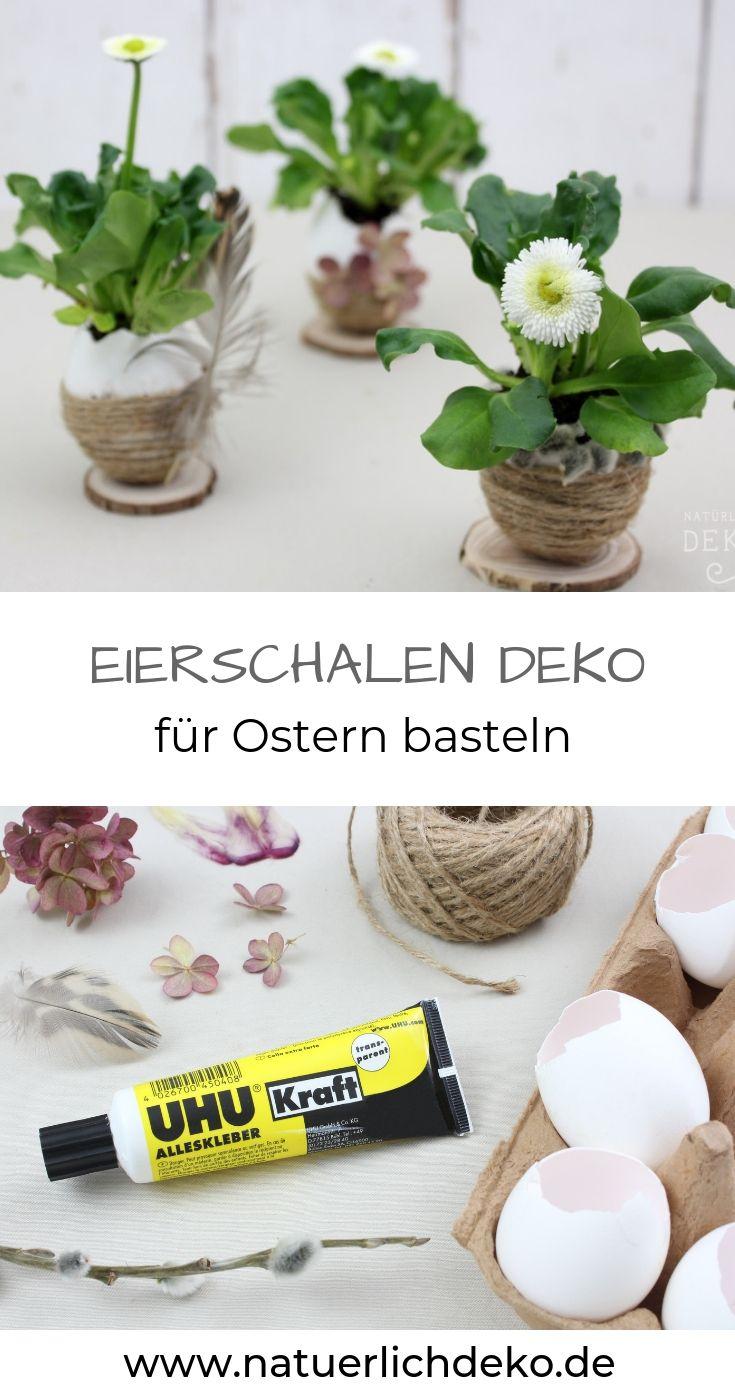 DIY Osterdeko mit Eierschalen