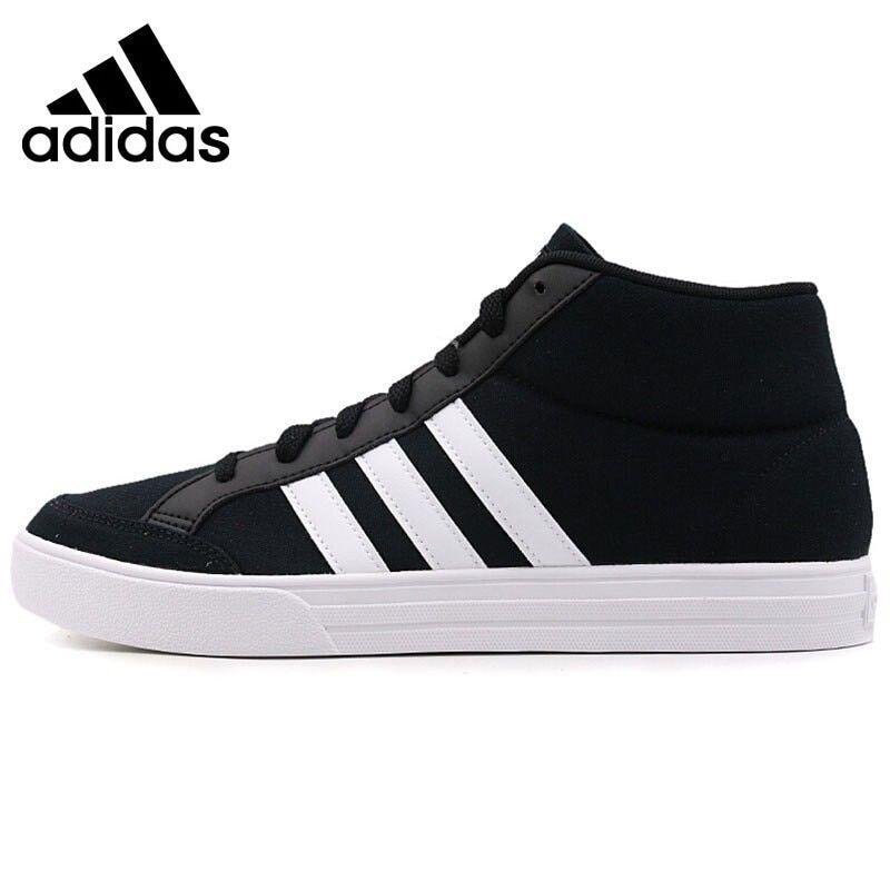Original New Arrival 2018 Adidas VS SET MID Men's  Basketball Shoes Sneakers , #men #clothing #sneak...