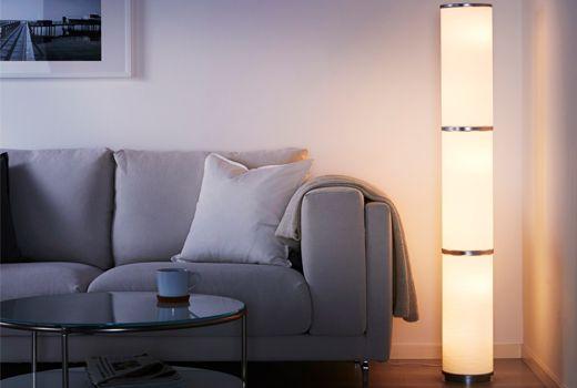 Ikea lampadaire vidja