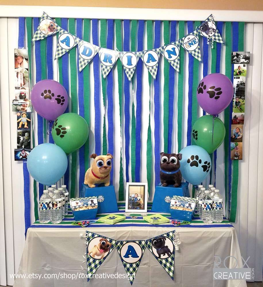 Puppy Dog Pals Birthday Party Ideas Dog Themed Birthday Party