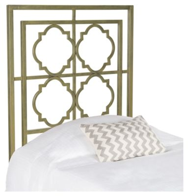 Safavieh Silva Twin Metal Headboard Metallic Home Decor Furniture Iron Headboard