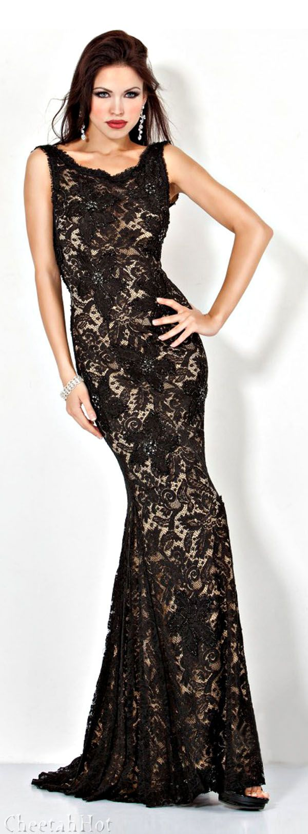 Jovani pretty black lace give me glam pinterest black