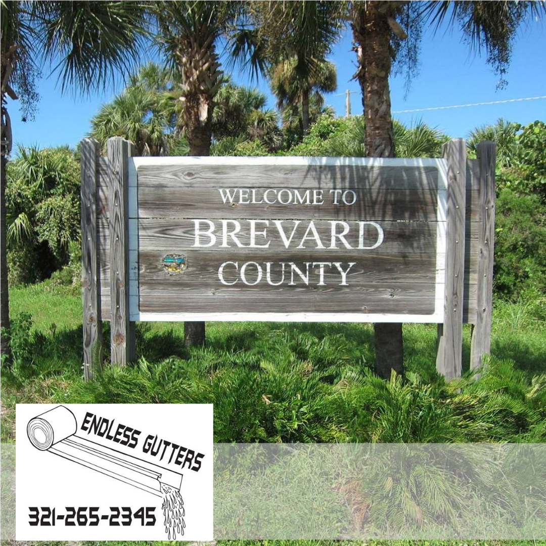 We Are Locally Owned And Locally Operated Serving All Of Brevard County And Proud To Be Working In This Commun How To Install Gutters Seamless Gutters Brevard