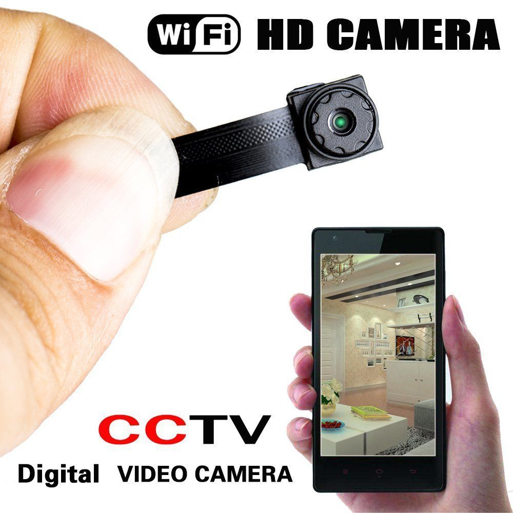 New Spy Nanny CAM Wireless WIFI IP Pinhole DIY Small Screw Camera Mini Micro Dvr