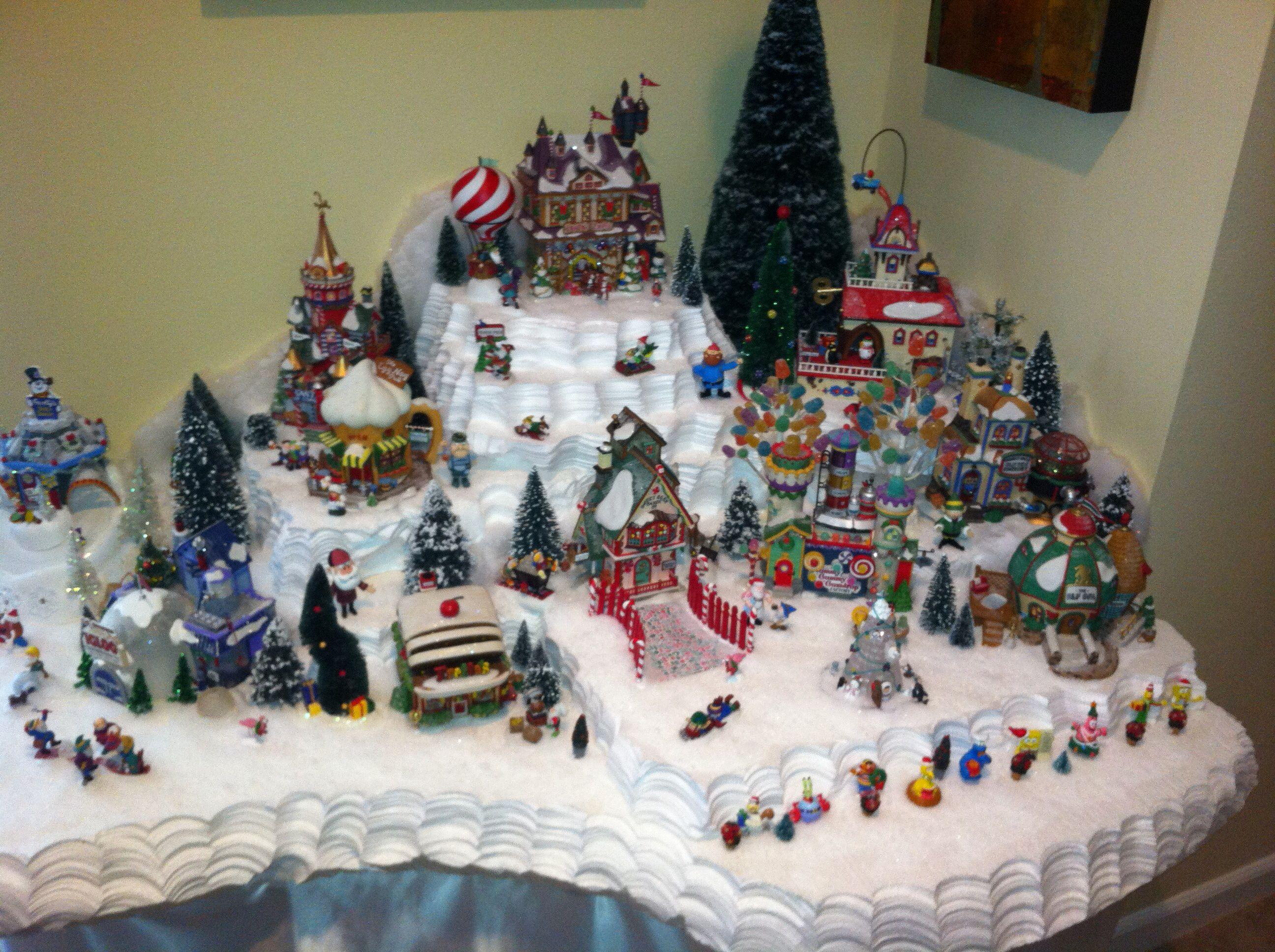 North Pole villas navide±as Pinterest