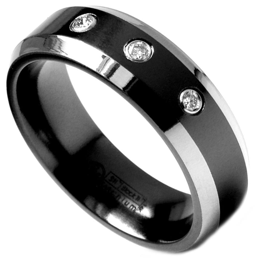 black engagement rings for men - Black Wedding Rings For Men