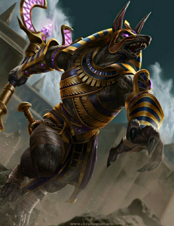 Anubis Is The Protector Of The Gates To The Underworld God Of