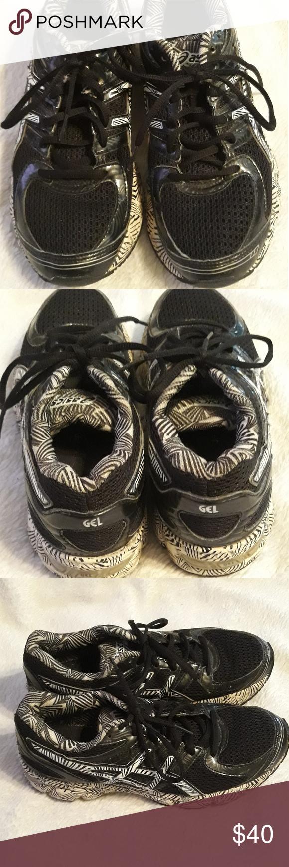 Womens Asics Gel Running Shoes T48AQ
