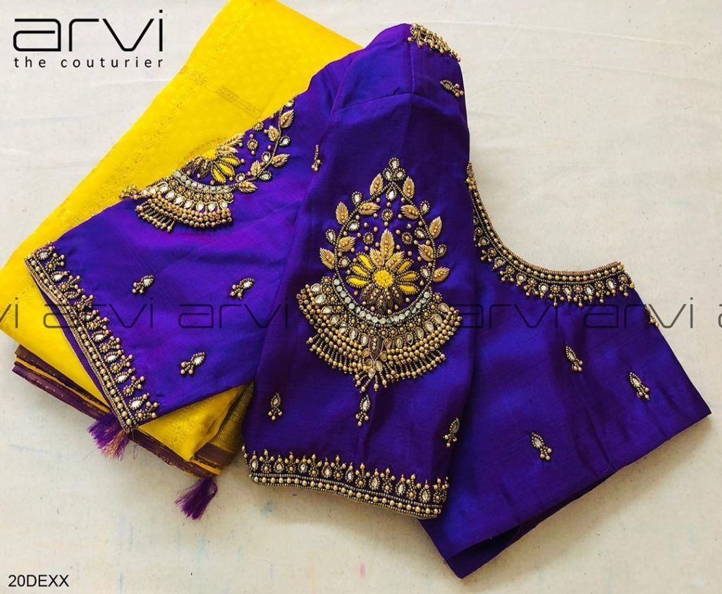 This Brand Has The Most Beautiful Bridal Blouse Designs • Keep Me Stylish