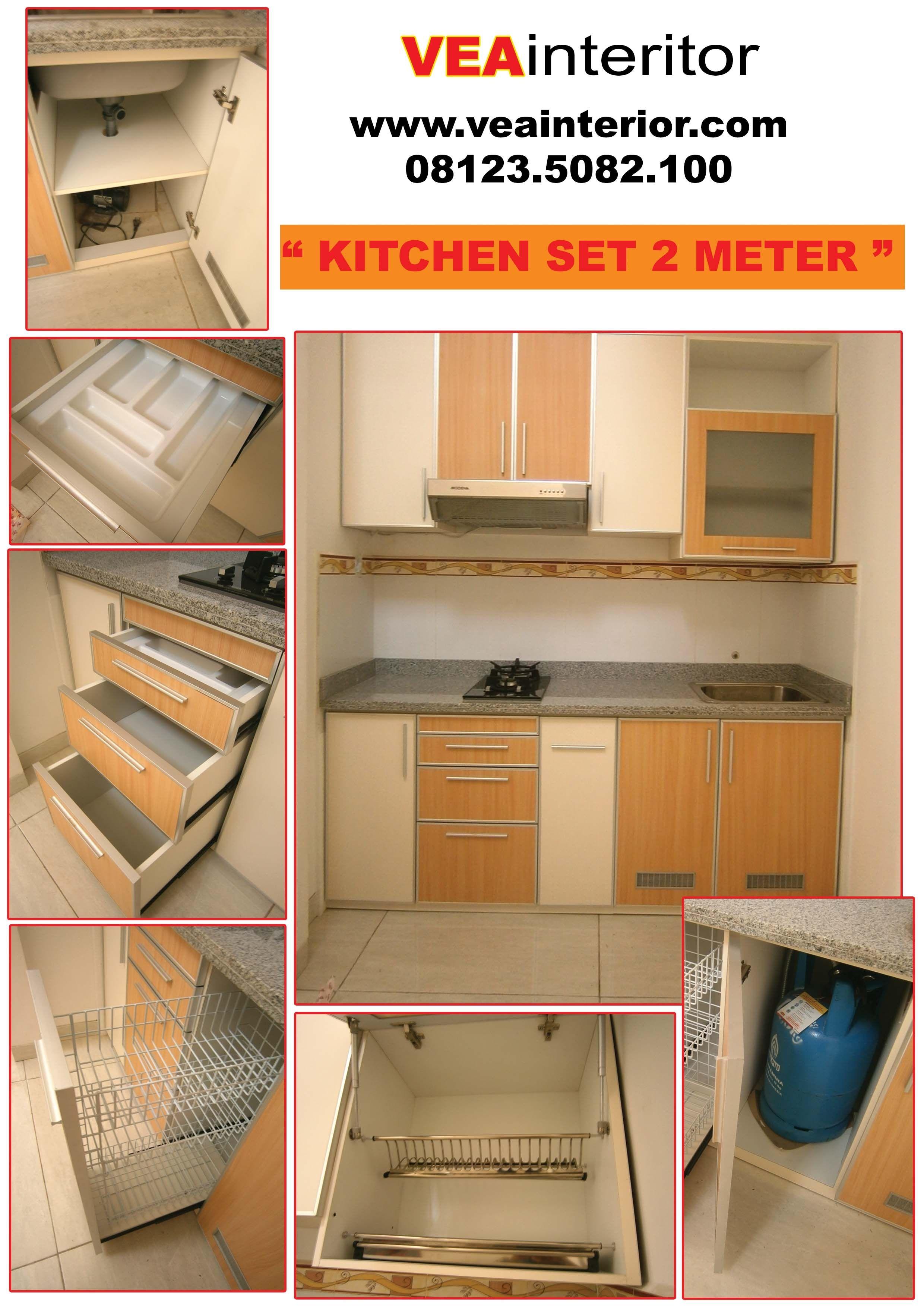 Jasa pembuatan kitchen set di surabaya pak deh furniture elu kebaikan penyusunan seluruh sebagai custom