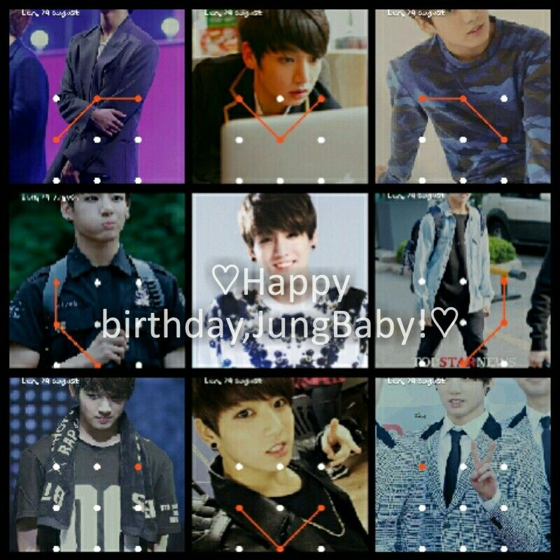 #HappyBirthdayJungKookie