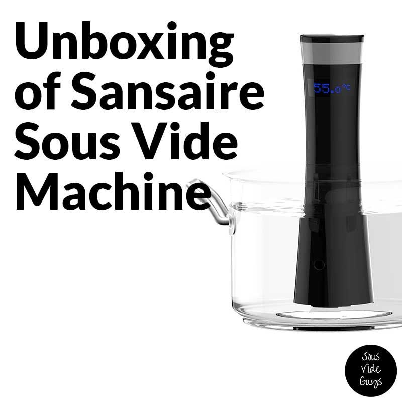We are pleased to bring you, the unboxing of the Sansaire ...