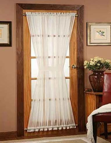 Glass Door Curtain Ideas find this pin and more on slider doorspatio doors French Door Curtains I Want To Do A Variation Of This For The