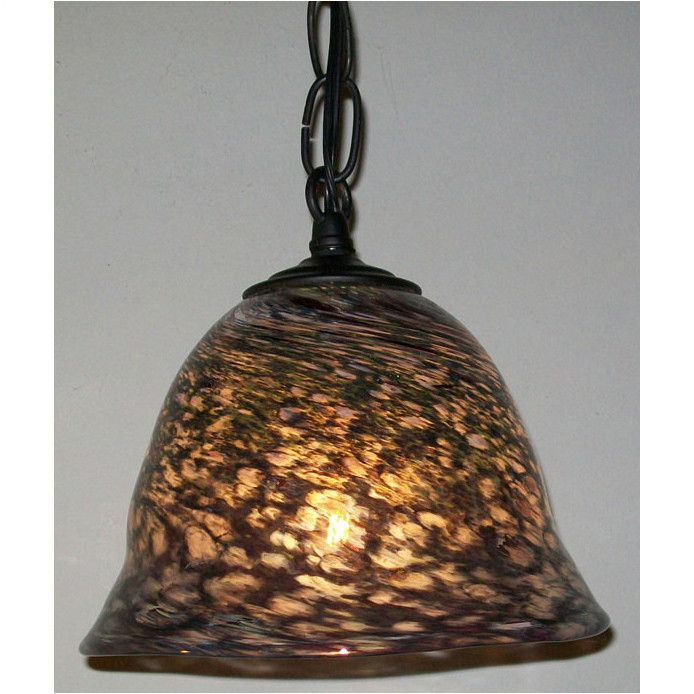 Crystal Postighone Mixed Glass Pendant Light, Artistic, Hand Blown Glass Pendants