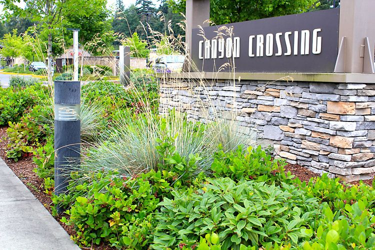 Commercial Landscaping Maintenance Photos Canyon Crossings