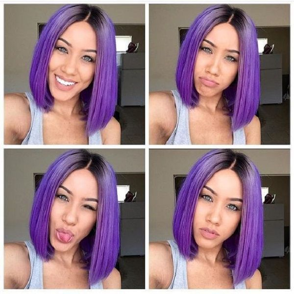 purple wigs for african american women | Amazing hair ...