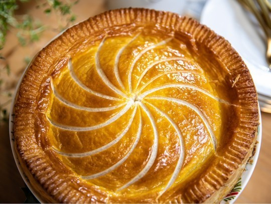 leek squash and blue cheese pithivier recipes john and lisa s weekend kitchen in 2020 leeks recipes blue cheese pinterest
