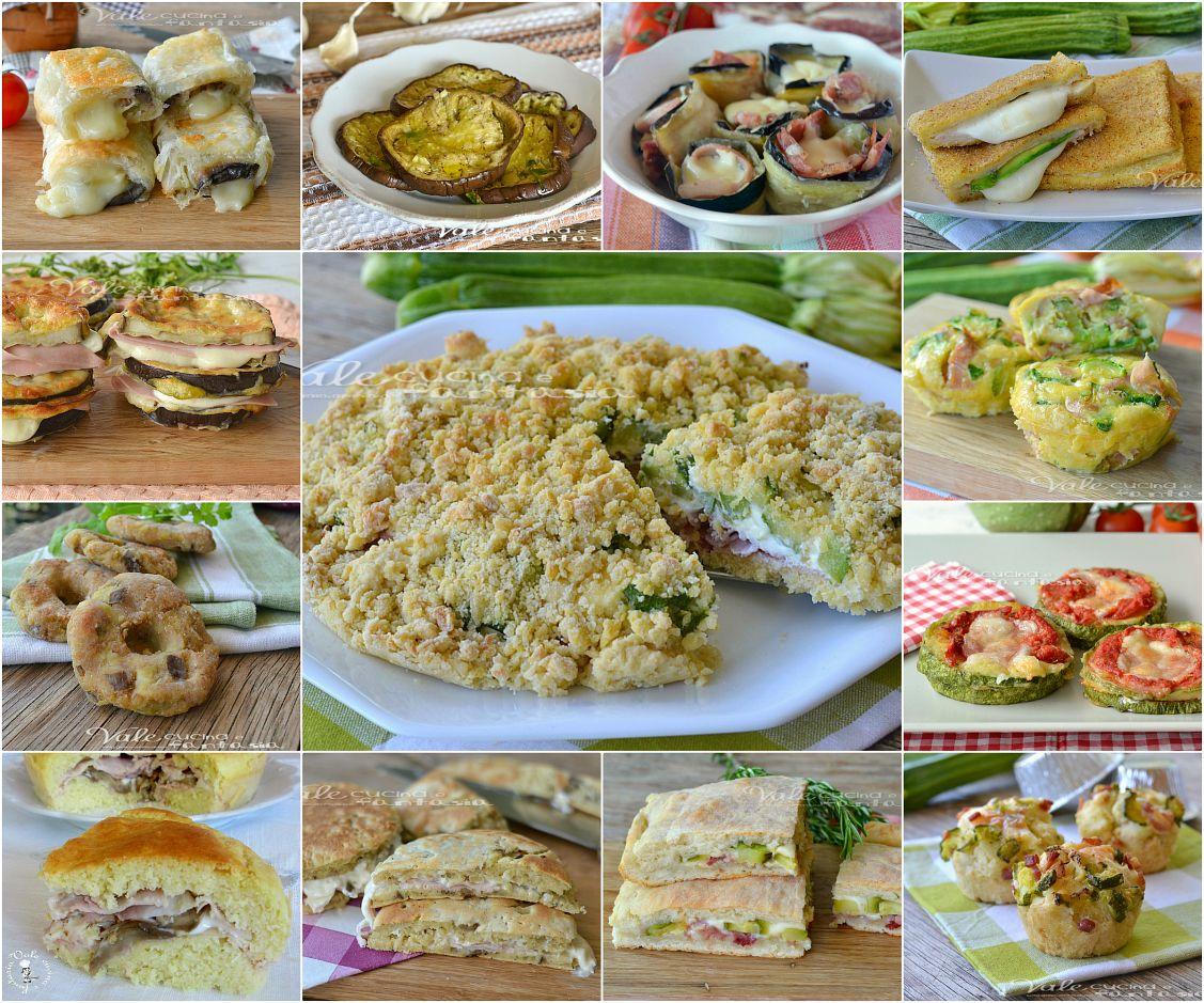 Raccolta di antipasti con zucchine e melanzane ricette for Antipasti freddi