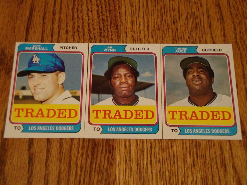 1974 topps baseball cards ebay