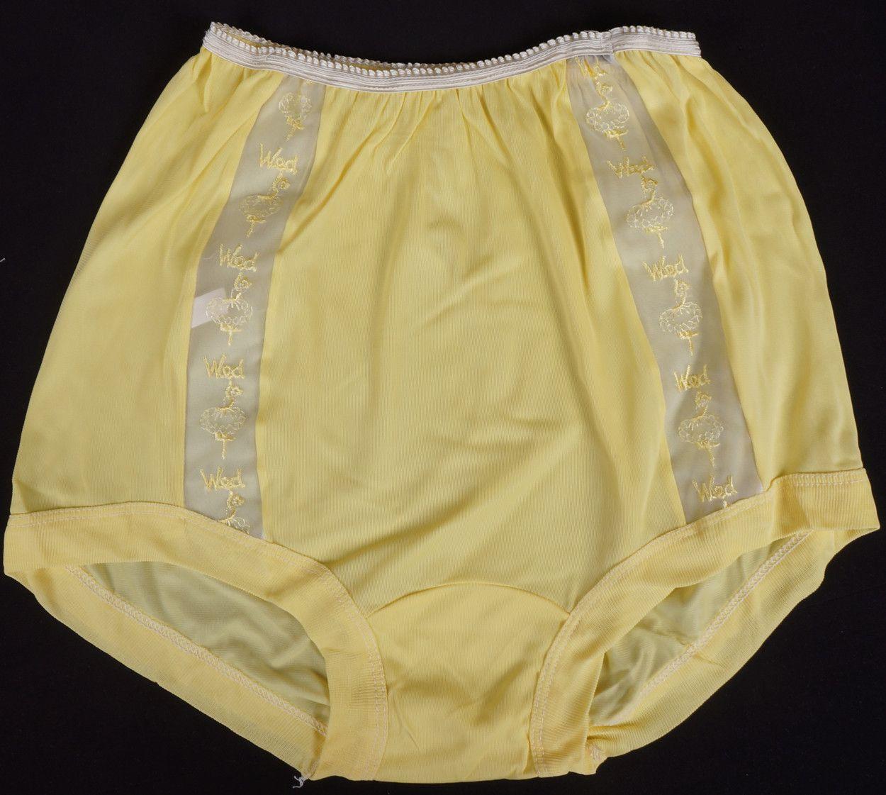 vintage panties 1950s panty days of the week nice things