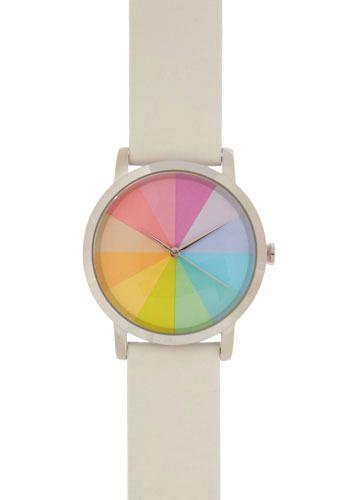 Pastel Prism Mod Cloth Modcloth Vintage Watches Swatch Watch