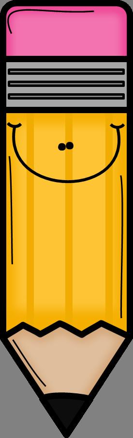 orange pencil clip art etiquetas y dibujitos pinterest