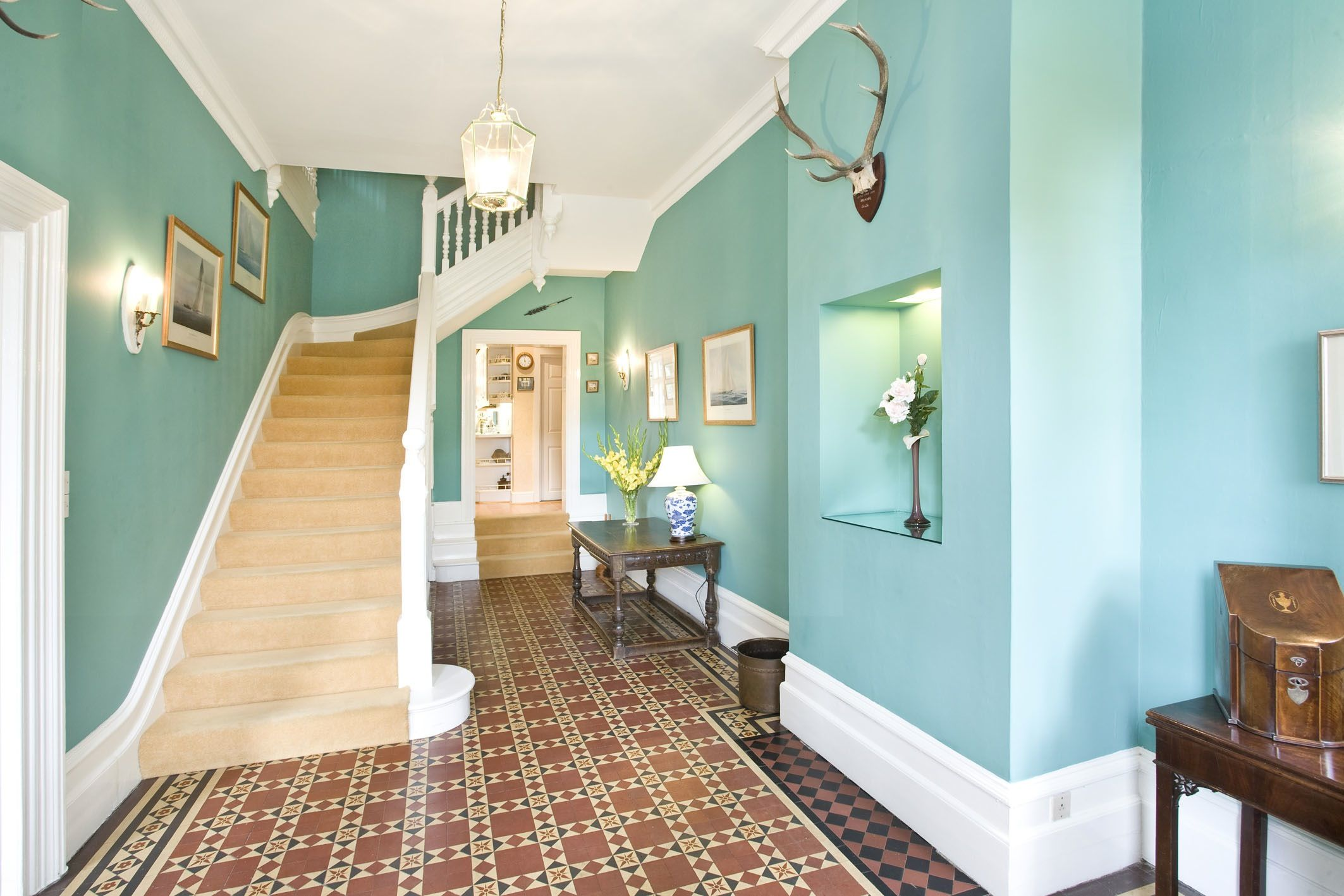 old hallway   Home Design   Pinterest   Hall, Hallway colors and ...