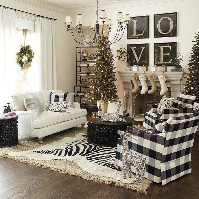 Lapland White Washed Deer Casa natal, Sala de estar
