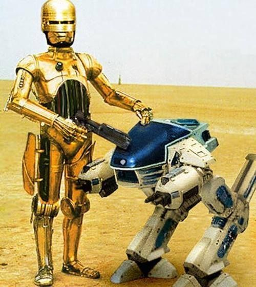 Mashup: Star wars - Robocop