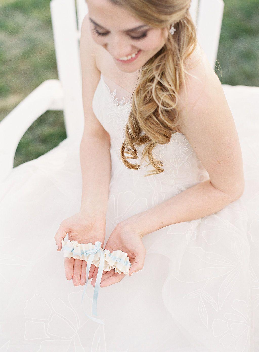 Custom wedding garters the garter girl provides handmade heirloom