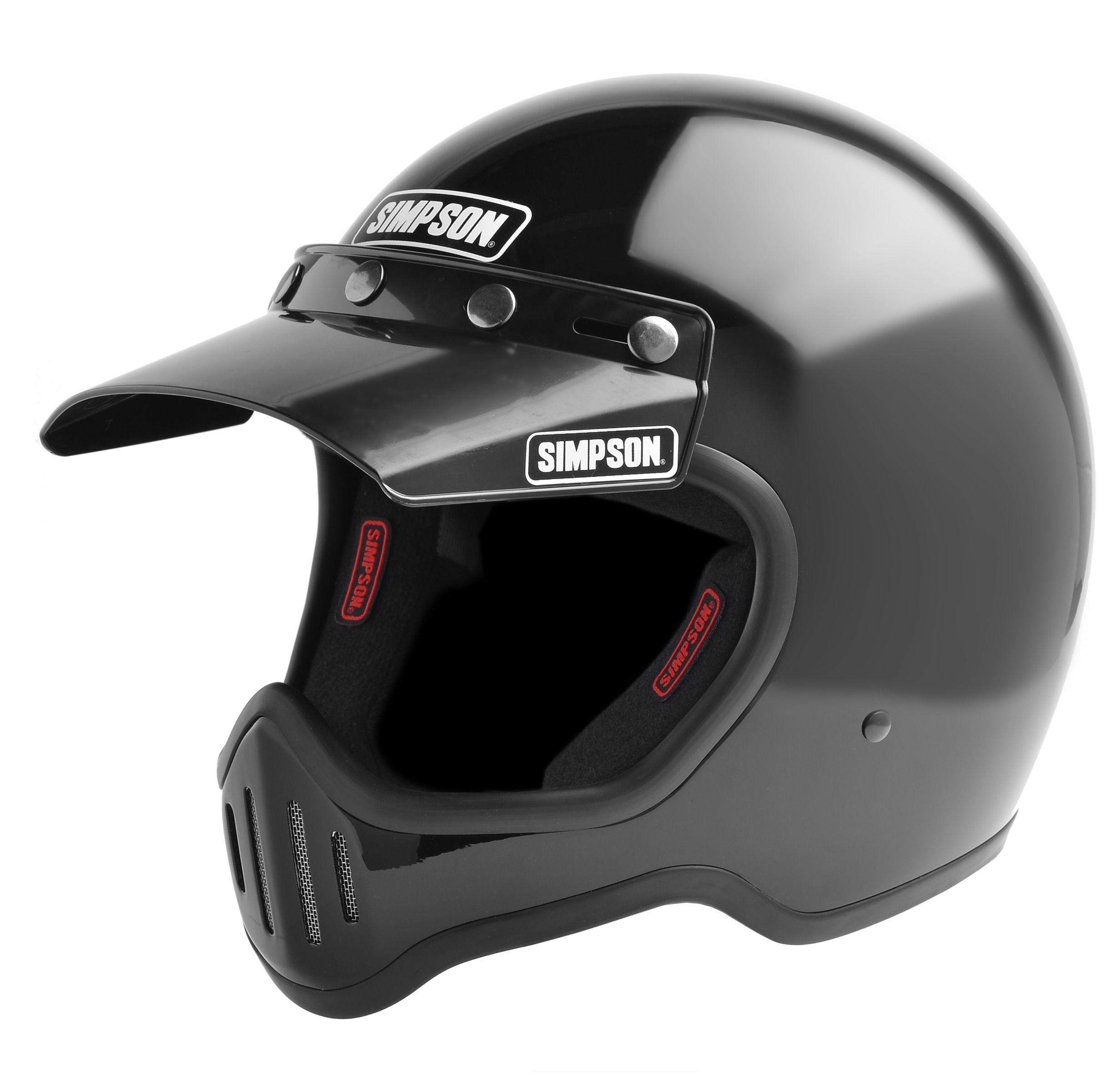 Simpson m50 helmet helmets motorcycle riding gear and riding gear the classic simpson helmet is back and better than ever this century retro remake has been updated with a modern dot safety certification and plush 1betcityfo Gallery