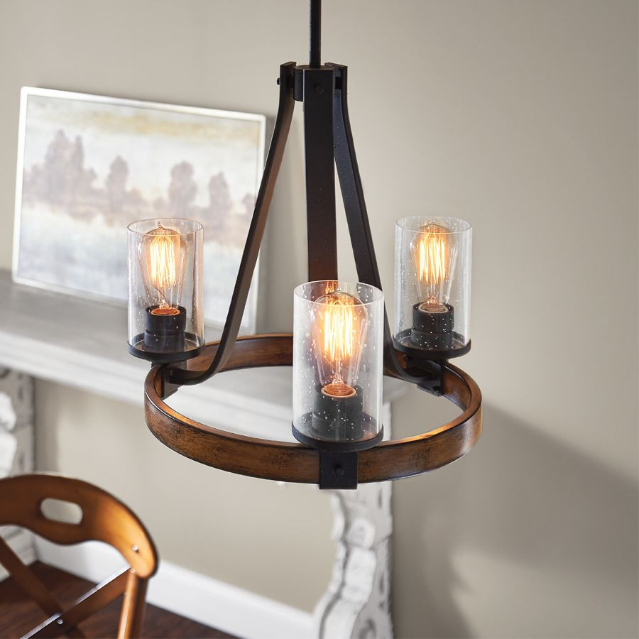 Kichler Lighting Barrington 17 99 In 3 Light Distressed